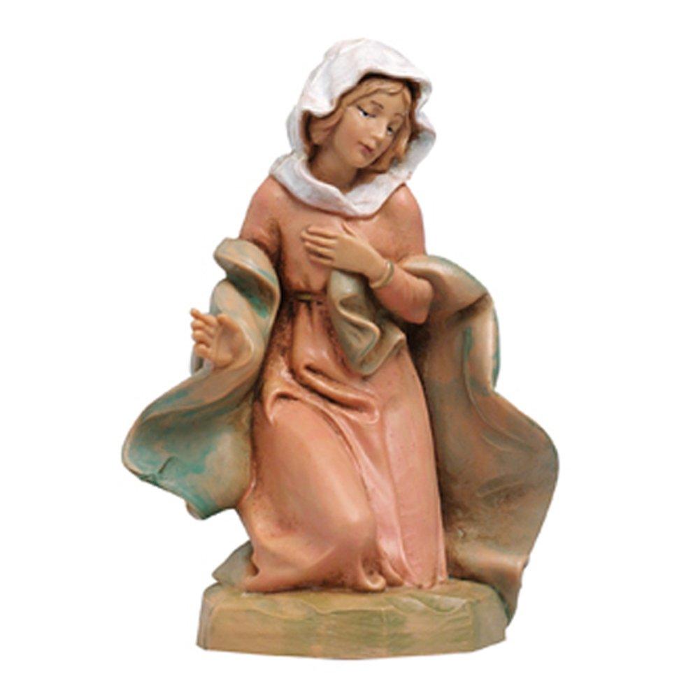 Fontanini Statuine Presepe: Madonna in Ginocchio 12 cm 2