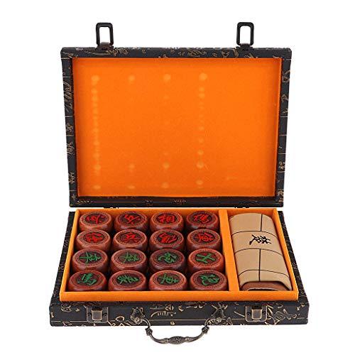 [해외]Fenteer 프리미엄 로즈 우드 중국 체스 세트 샹 치 클래식 전략 게임 선물 상자 w / Fenteer Premium Rosewood Chinese Chess Set Xiangqi Classic Strategy Game w Gift Box