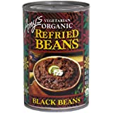Amy's Organic Refried Black Beans, 15.4-Ounce Cans (Pack of 12)