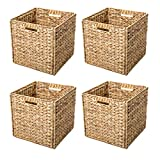 Trademark Innovations Foldable Hyacinth Storage