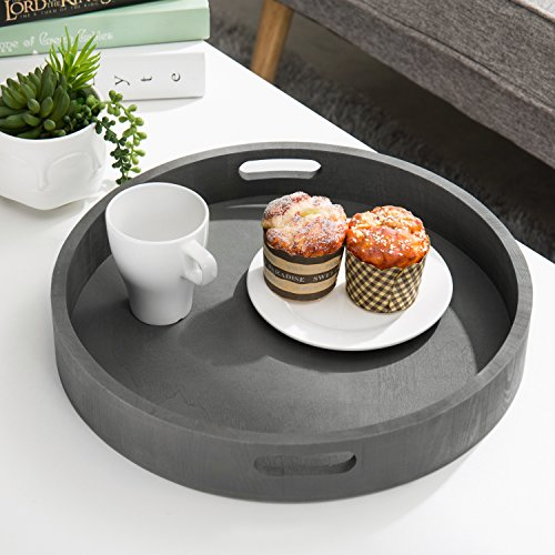 Large wooden trays for coffee table or ottoman