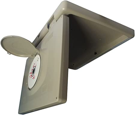 Tview T173DVFD-TN Car Monitor DVD Player-Set of Tan