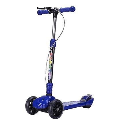 Patinete- Scooter para niños 2-12 años de Edad 3 Ruedas Kick ...
