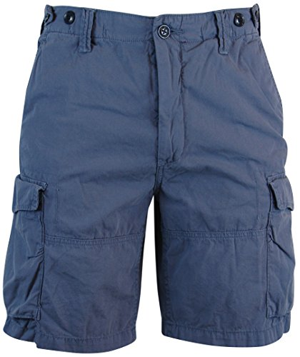 Polo Ralph Lauren Mens Classic Fit Printed Twill Cargo Shorts