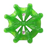 Softspikes-Pulsar-Tour-Lock-Cleat-One-Replacement-Set-Green