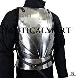 NAUTICALMART Gothic Armor Cuirass - 18 Gauge Steel