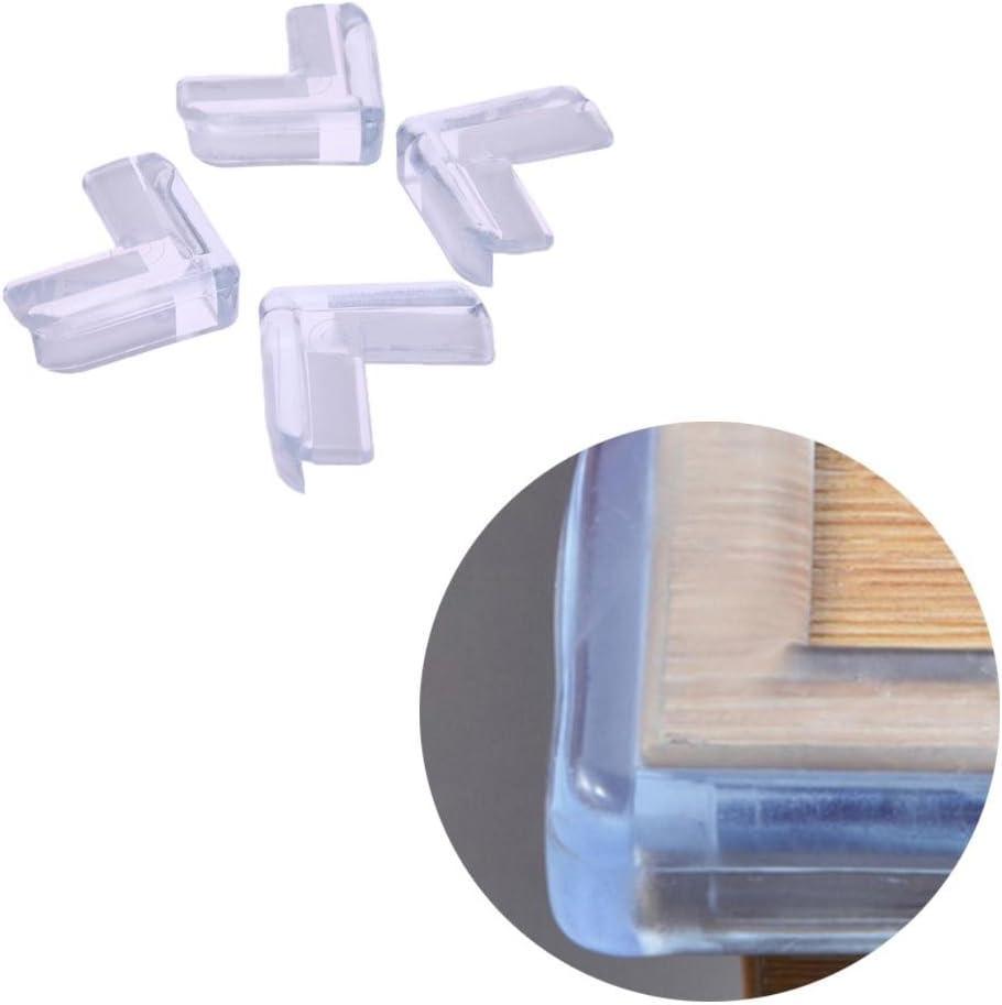 Protections dangle de s/écurit/é transparentes pour meubles de table