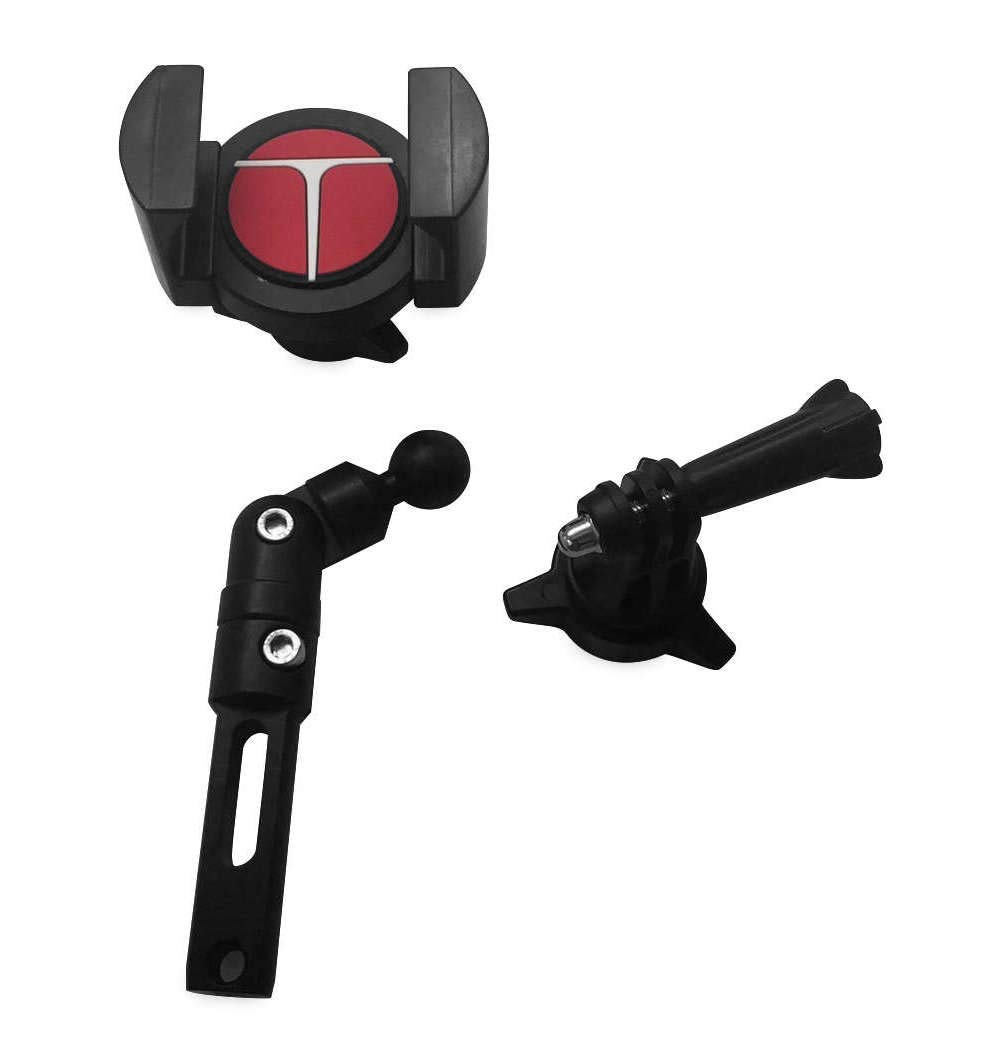 Techmount 4-31001TGRIPGO TechGripper Combo with Action Camera Adapter