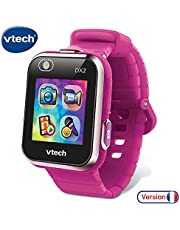VTechKidizoom Smartwatch Connect DX2 – Framboise – Montre Connectée Pour Enfants