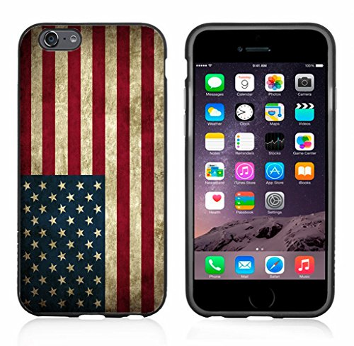 USA American Flag Grunge Case/Cover for iPhone 6 or 6S by Atomic Market (Iphone 6 Skins American Flag)