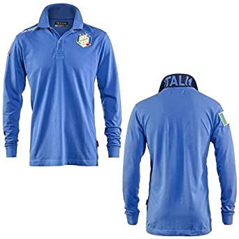 Polo - Polo Kappa Italia Fisi - Azzurro - XL: Amazon.es: Ropa y ...