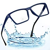 LifeArt Bifocal Reading Glasses with Invisible Round Lenses,Blue Light Blocking Glasses for Men/Women,+1.50 Magnification