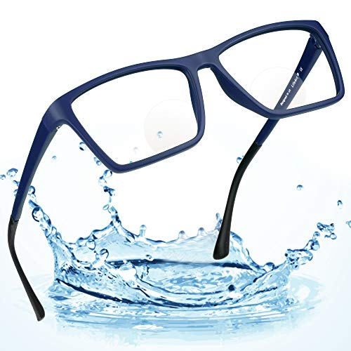 LifeArt Bifocal Reading Glasses with Invisible Round Lenses,Blue Light Blocking Glasses for Men/Women,+2.00 Magnification ()