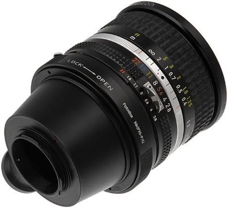 and DX-Type Lens to Pentax Q-Series Camera fits Pentax Q Mirrorless Cameras Fotodiox Lens Mount Adapter Nikon G-Type