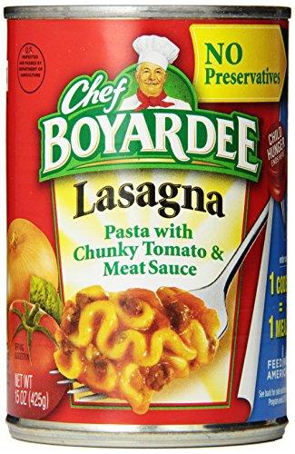 chef boyardee lasagna 15 oz - 1