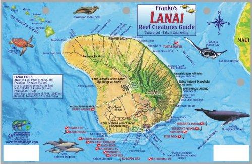 - Lanai Map & Coral Reef Creatures Guide Franko Maps Laminated Fish Card