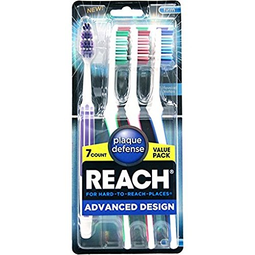 Price comparison product image Reach Advanced Design Toothbrushes, Firm, 7 count