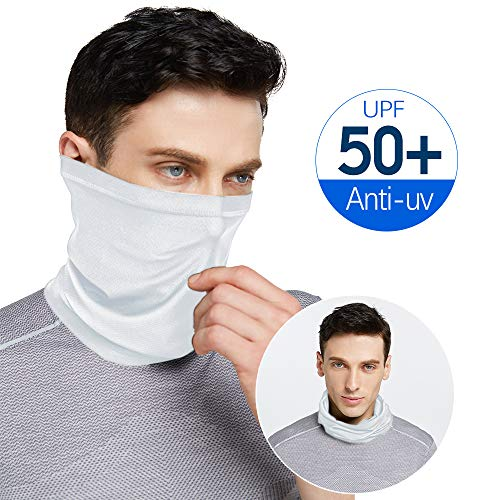 Venswell Summer Face Mask, Dust Sun UV Protection Neck Gaiter, Multifunctional&Breathable &Elastic Face Scarf Mask for Riding Fishing Hiking Motorcycling Cycling