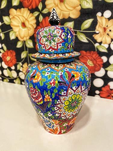 IstanbulArtWorkshop 12'' Decorative Turkish Ceramic Vase