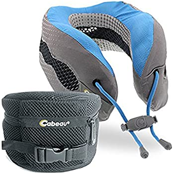Amazon Com Cabeau Evolution Memory Foam Travel Pillow