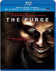 Cover Image for 'The Purge (Blu-ray + DVD + Digital Copy + UltraViolet)'