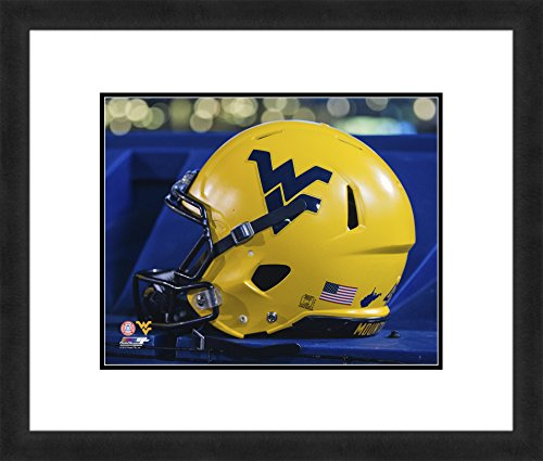 "NCAA West Virginia Mountaineers, Beautifully Framed and Double Matted, 18"" x 22"" Sports Photograph by Photo File"
