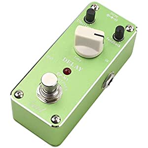 entil concise vintage pure analog delay guitar effect pedal true bypass green. Black Bedroom Furniture Sets. Home Design Ideas