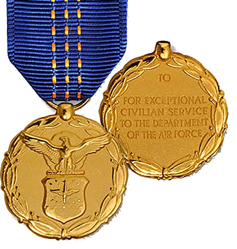 Air Force Exceptional Civilian Service Award Large Medal (Service Medal Exceptional)