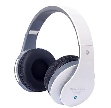 BALIYIN Auriculares Inalámbricos Bluetooth Escalable Auriculares para Música Deporte Running Ordenador Juegos HiFi Fuerte Bajo Auricular