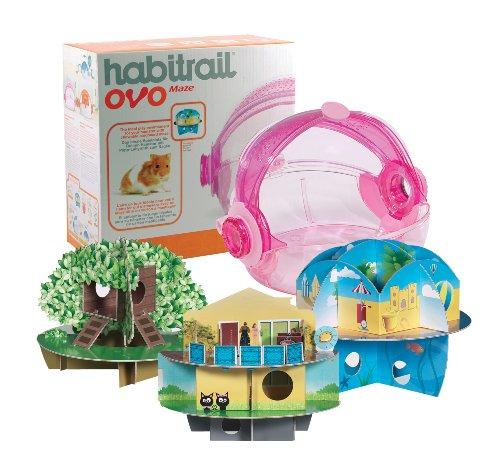 Habitrail OVO Chewable Cardboard Hamster Maze