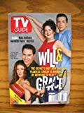 Eric McCormack Signed / inscribed TV Guide with the Will & Grace Cast on the cover Dated 2/18/2000