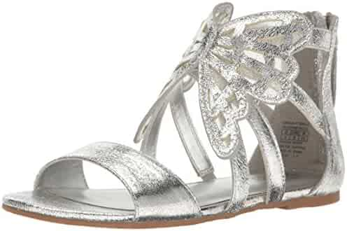 Badgley Mischka Kids' Cara Butterfly Flat