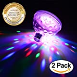 Eutuxia LED Pool Lights. Floating Underwater Mood Lamp - Best Reviews Guide
