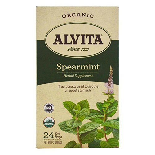 Alvita Spearmint Organic Tea Bags 24 ea 1.42 oz