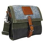 LICENCE 71195 Jumper Canvas M Shoulder Bag, Khaki
