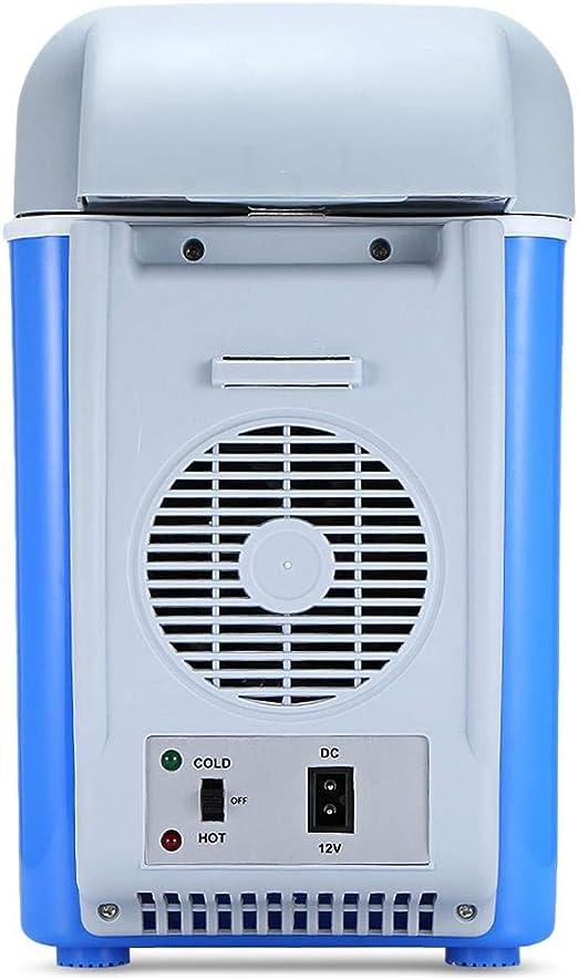 COUYY 12V 7.5L Mini portátil de Coche Coche de refrigerador ...