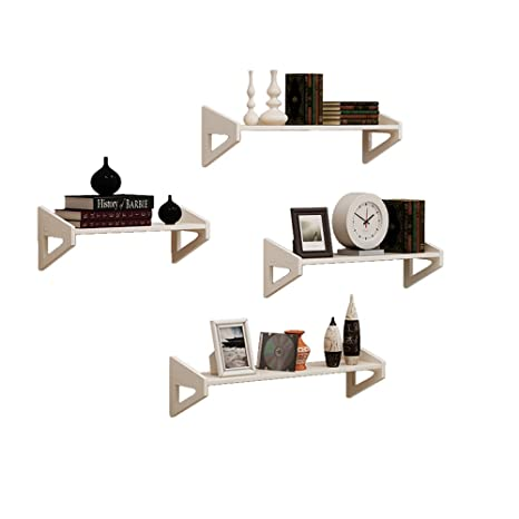 Creativo Triangle Geometry PVC Rack Parete attrezzata Camera da ...