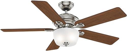 Casablanca 54042 Utopian Gallery 52-Inch 5-Blade Single Light Ceiling Fan