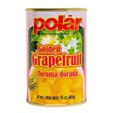 MW Polar Polar Grapefruit in Light Syrup 15oz, 15 Ounce (Pack of 24)