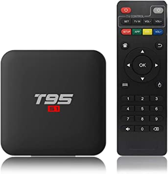 Docooler T95 S1 Android 7.1 TV Box Amlogic S905W Smart TV Set Top Box Control Remoto
