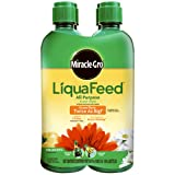 Miracle-Gro LiquaFeed All Purpose Plant Food Refill Pack (Does not Include Spoon), 16 fl. oz. (4 Pack)