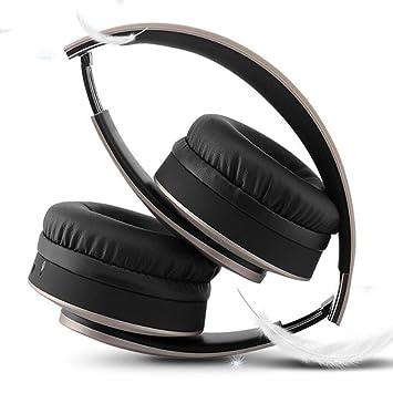 Gaming Headset Wireless, Bluetooth Overhead Auricular Que Rodea El Micrófono con Cancelación De Ruido para