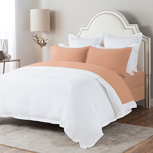 Briarwood Home 150 GSM Brushed Flannel Deep Pocket Bed Sheet Set, 100% Soft Turkish Cotton - Brushed Flannel Bed Sheets (King, - Briarwood At Stores