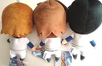 Ace of Diamond Plush Doll x3 Mascot Miyuki Yuki Isashiki Seido High Anime F//S