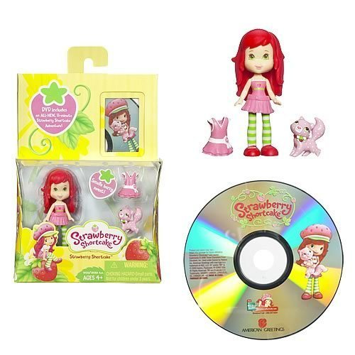 (Strawberry Shortcake Hasbro Mini Doll with DVD)