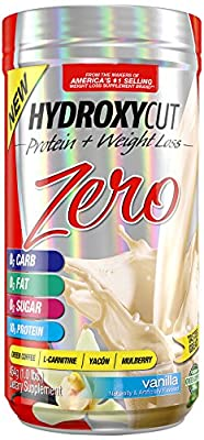 Hydroxycut Zero Weight Loss Protein Vanilla, 1 Pound