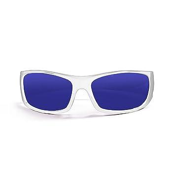 Ocean Sunglasses Bermuda - Gafas de Sol polarizadas - Montura : Blanco Brillante - Lentes :