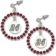 NASCAR Jeff Gordon #24 LogoArt Spirit Earrings