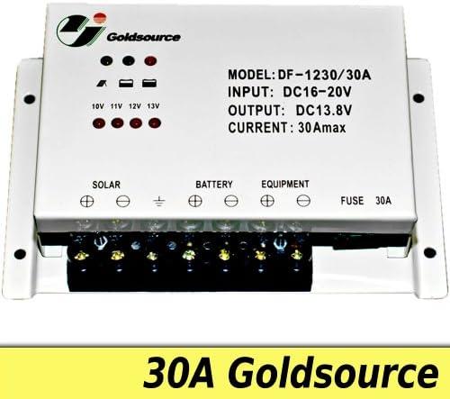 Solarregler, Laderegler 30A - bis 360W Modulleistung