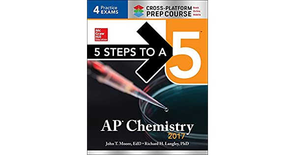 Amazon.com: 5 Steps to a 5 AP Chemistry 2017 Cross-Platform ...